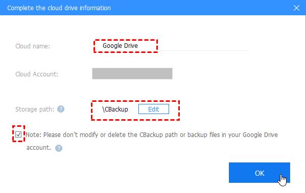 Complete Google Drive Info