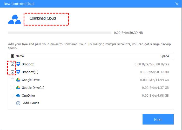 Tick All Dropbox Accounts