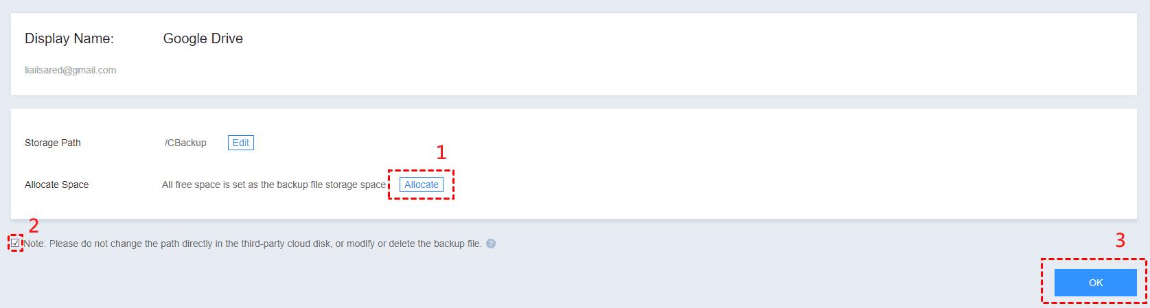Modify Confirm