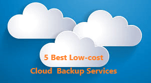 5 Best Low Cost Cloud Backup Services