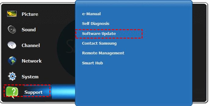 Update Smart Tv