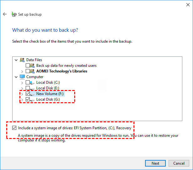 Create Disk Image