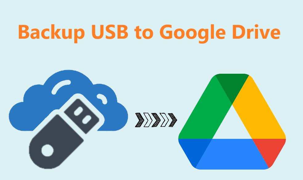 Backup USB to Google Drive