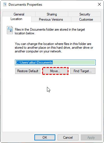 Move Documents Folder To Dropbox Folder
