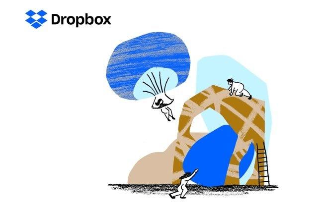 Dropbox Main Page