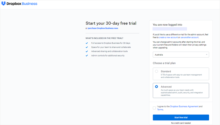 Not Enough Space To Access Folder Dropbox
