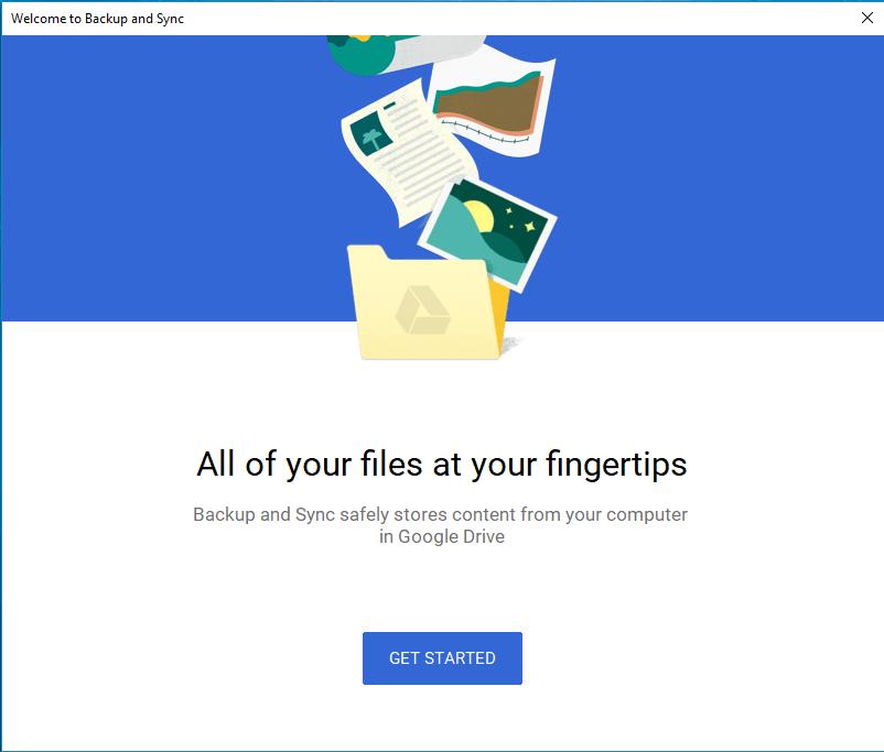 Google Backup And Sync