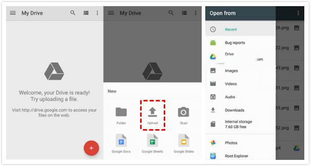 Backup to Google Drive