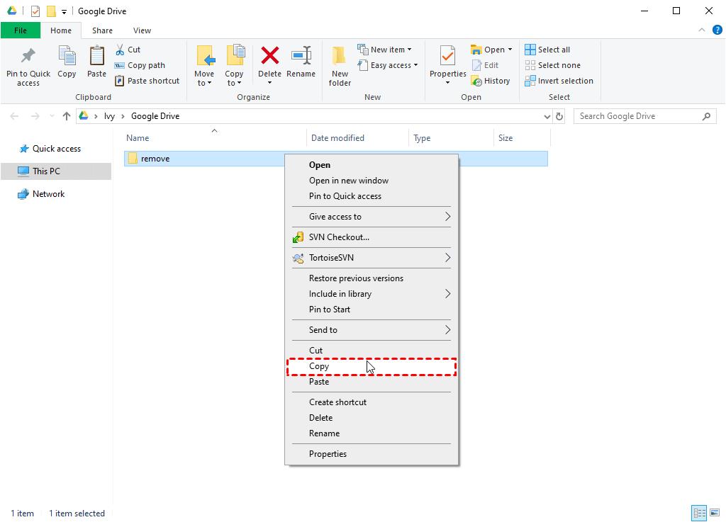 Copy Folder