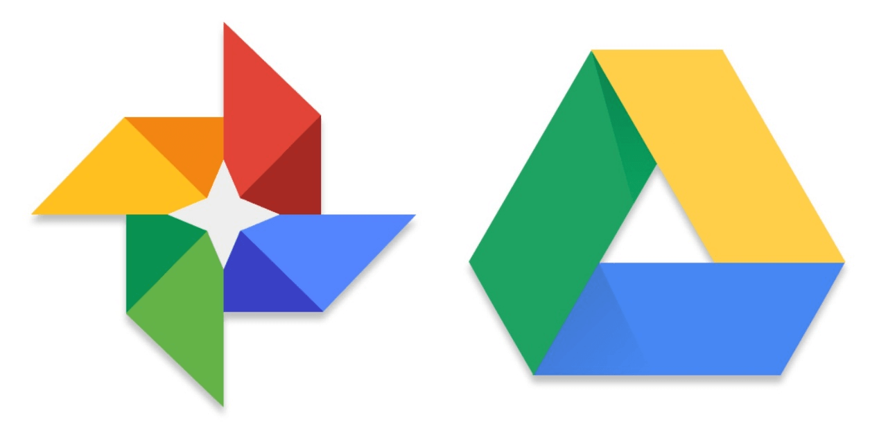 Google Photos and Drive