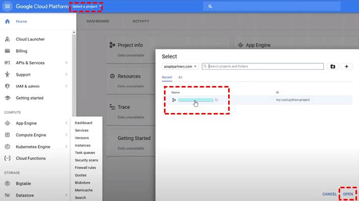Create Google Credentials 3