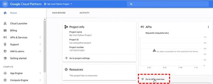 Create Google Credentials 4