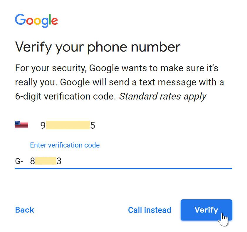 Verify Phone Number
