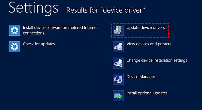 Update Device Driver