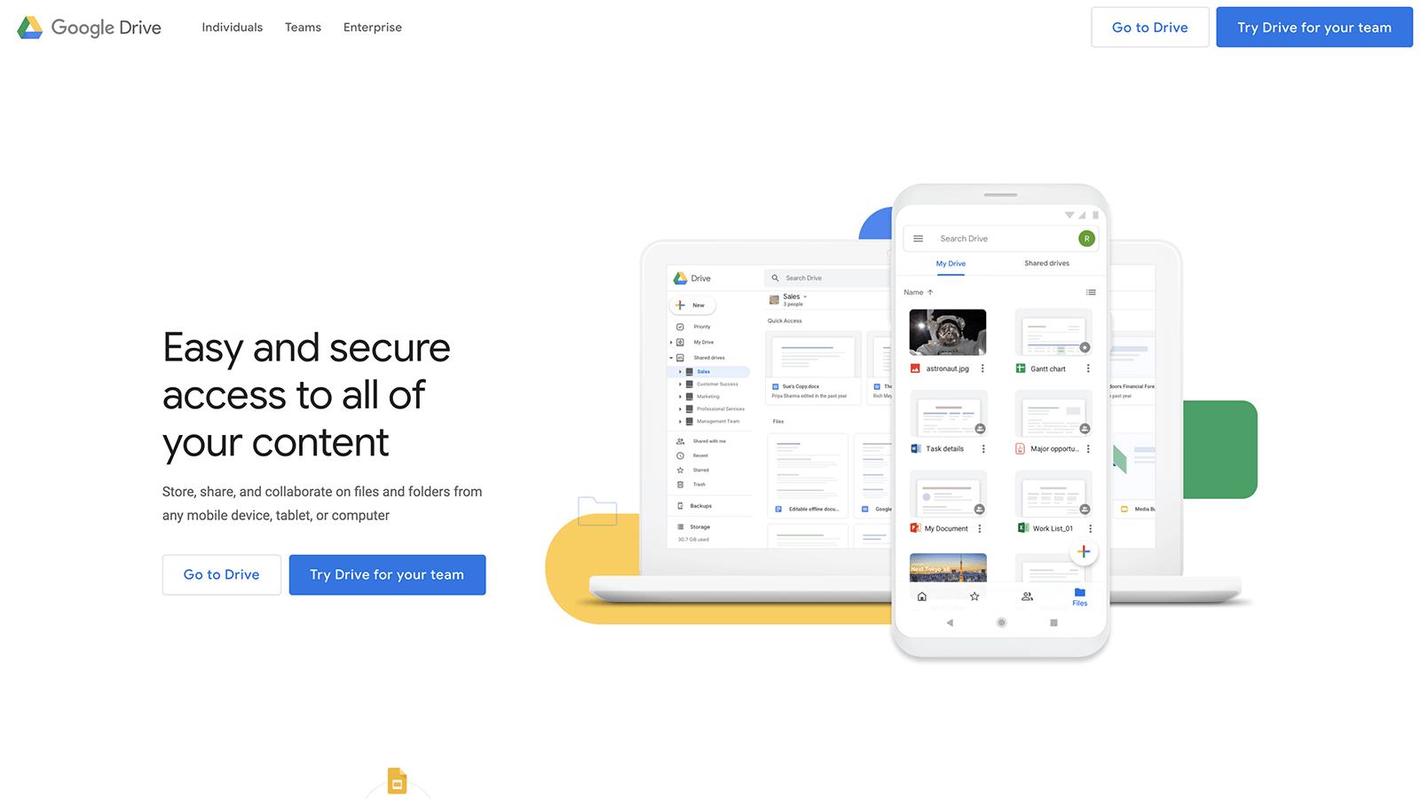 Google Drive Main