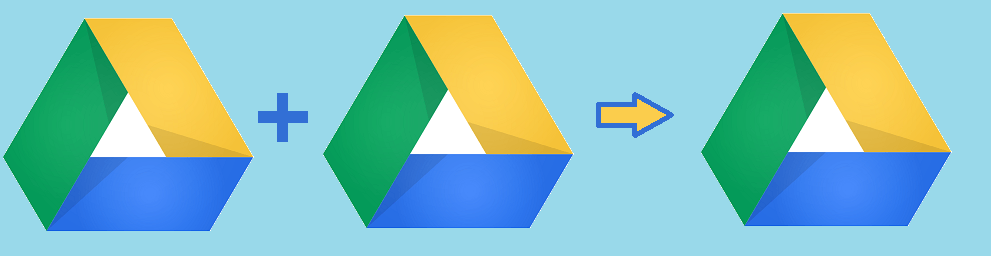 Merge Google Drive Accounts
