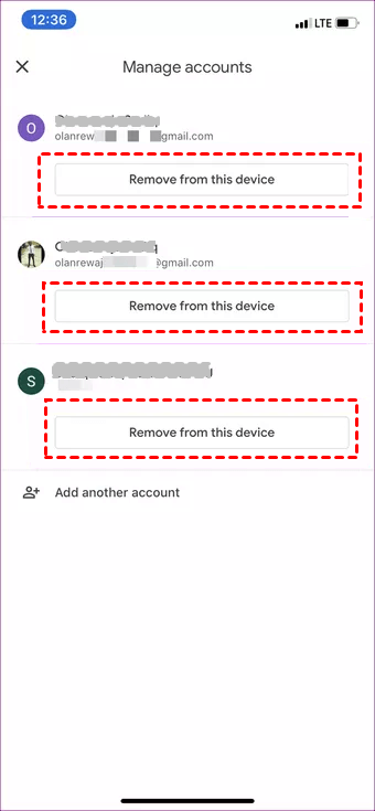 Remove Google Account Iphone