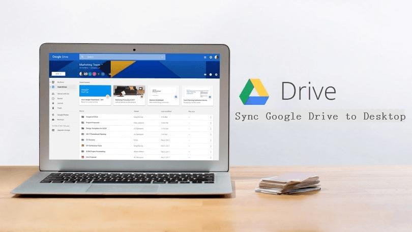 Sync Google Drive To Desktop