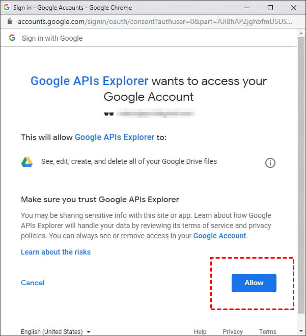 Google Drive Empty Trash 2