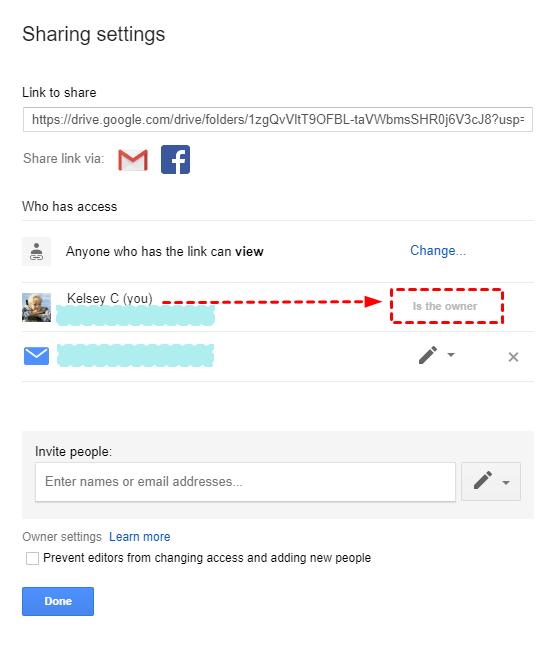 User Emails Listing