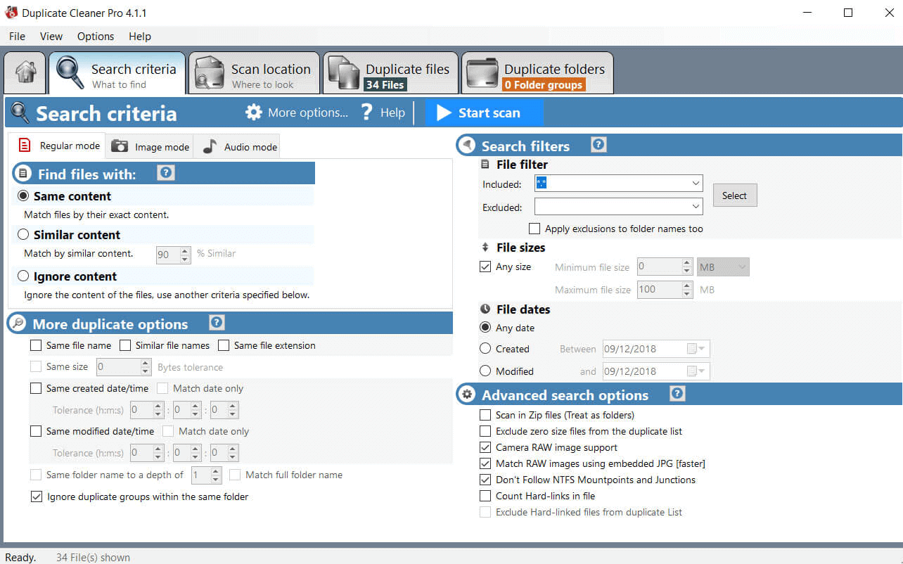 Duplicate Clearner
