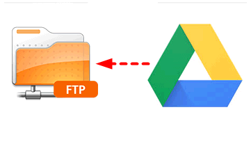 FTP to Google Drive