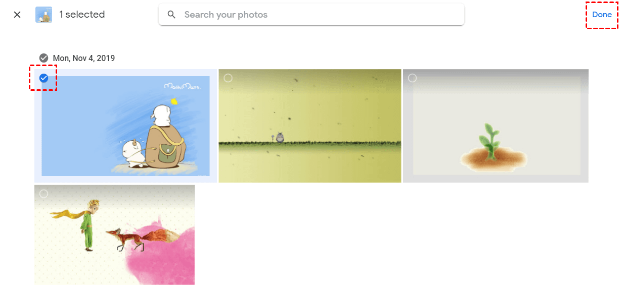 Google Photos Hidden Album