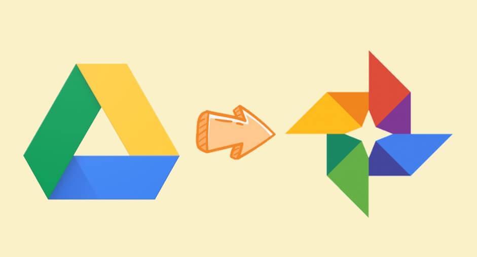 Google Drive to Google Photos