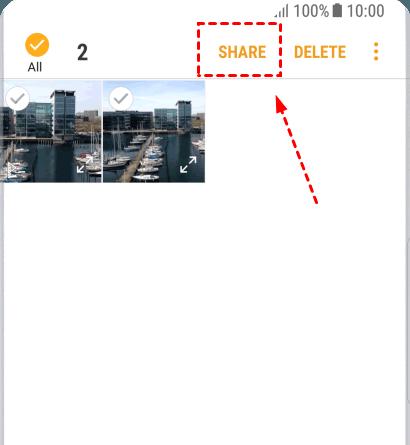 Samsung Share Option