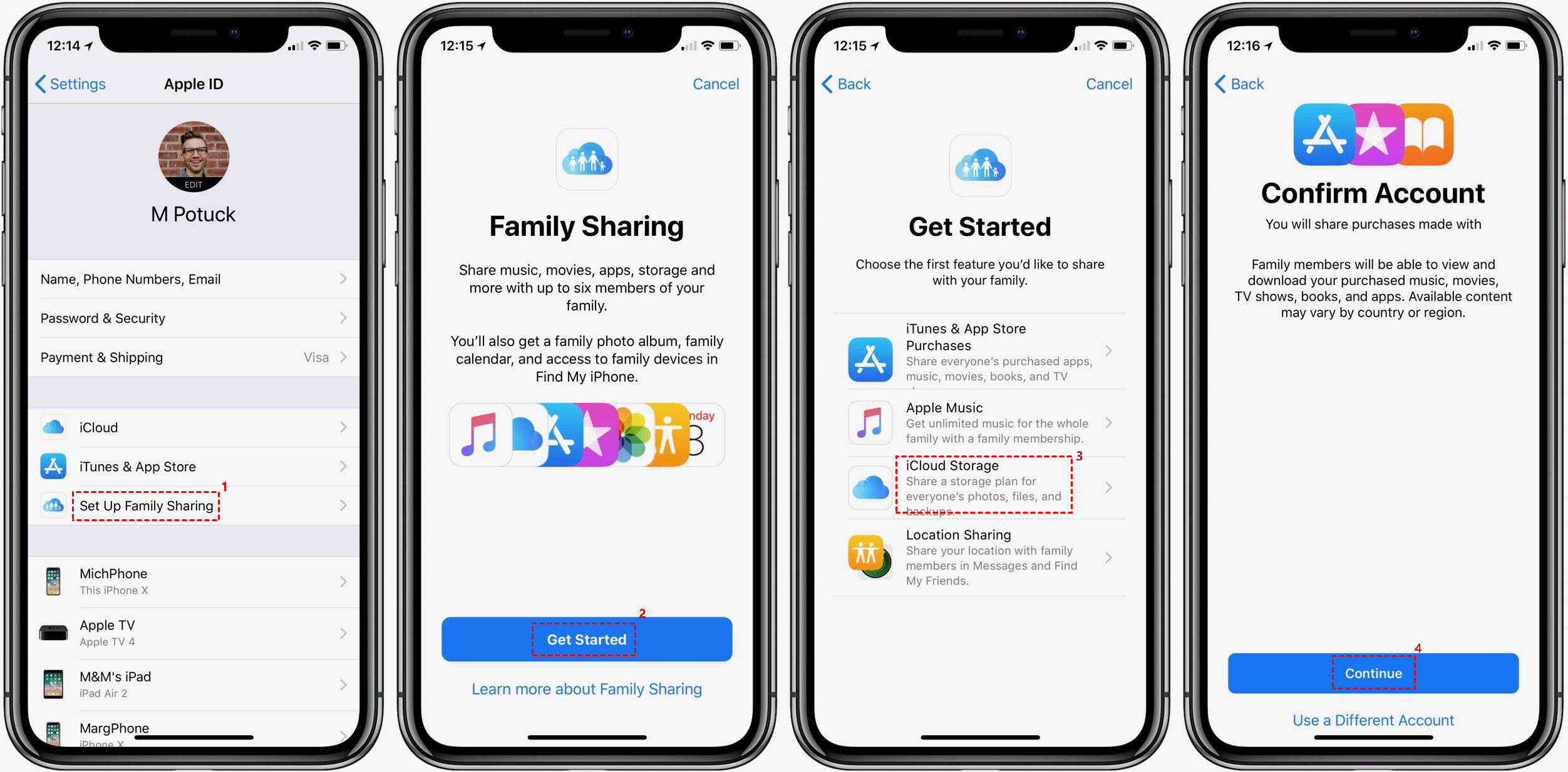 Family Sharing Icloud