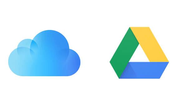 Google Drive or iCloud