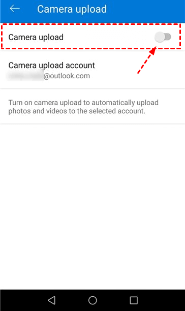 Android Camera Upload