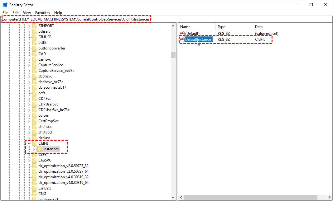 Edit Windows Register Key