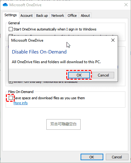 Disable Files On Demand
