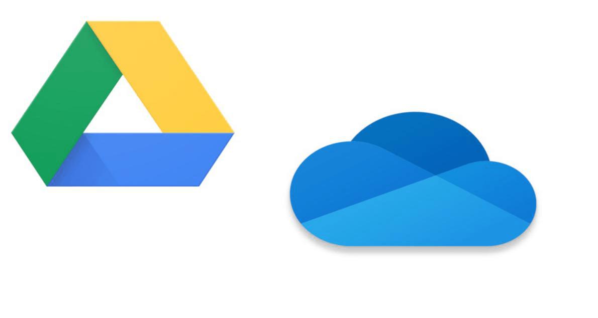 OneDrive and Google Drive