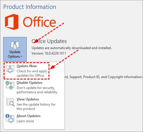 Office Update
