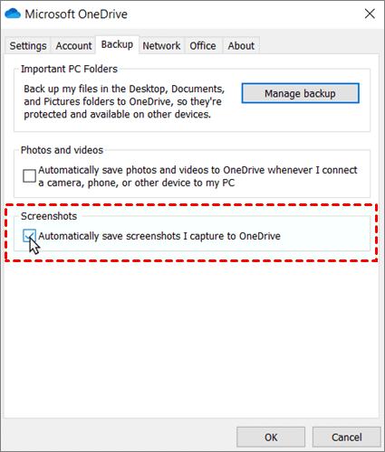 Auto Save Screenshots Windows