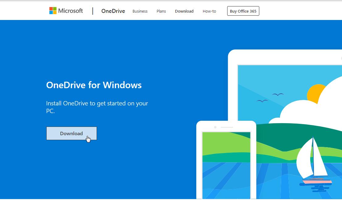 Download OneDrive