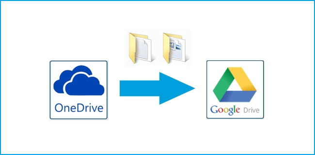 Move Files from OneDrive to Google Drive