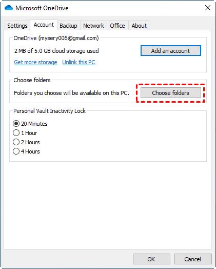 Choose Folders Min