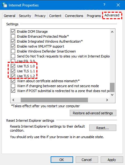 TLS Option