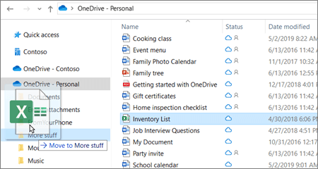 Onedrive Folder Windows