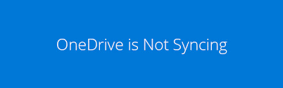 Onedrive Not Syncing