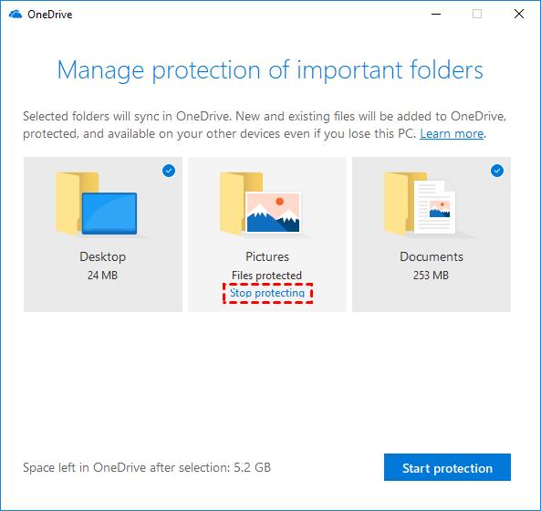 Stop Protect Folder