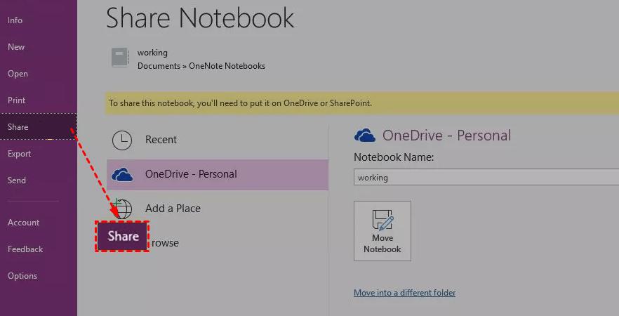 Notebook Share