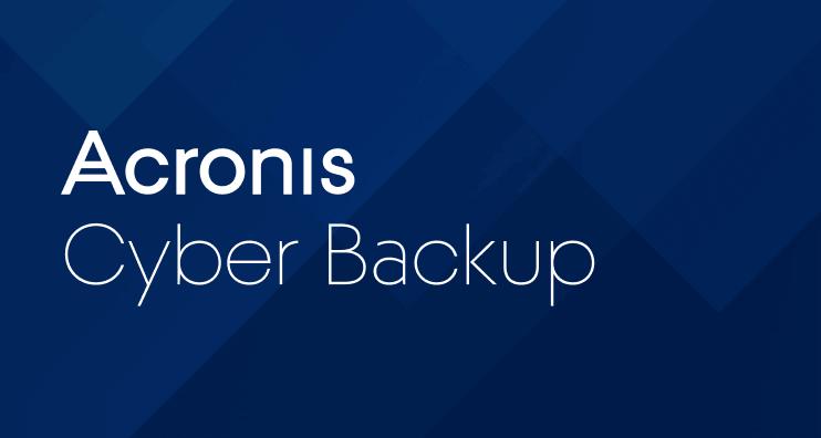 Acronis Cyber Backup