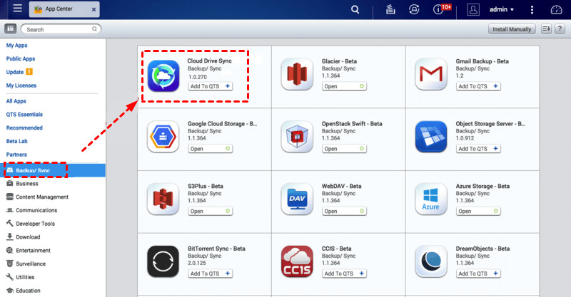 Qnap Cloud Drive Sync Download