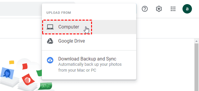 Google Photos Upload From Computer