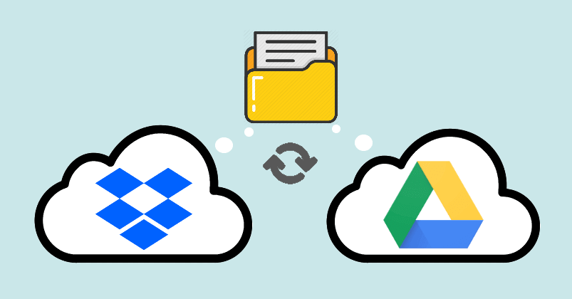 Sync Dropbox and Google Drive Same Folder