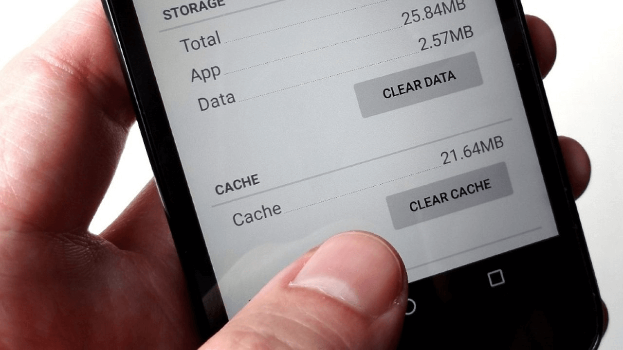 Android Clear Data Clear Cache